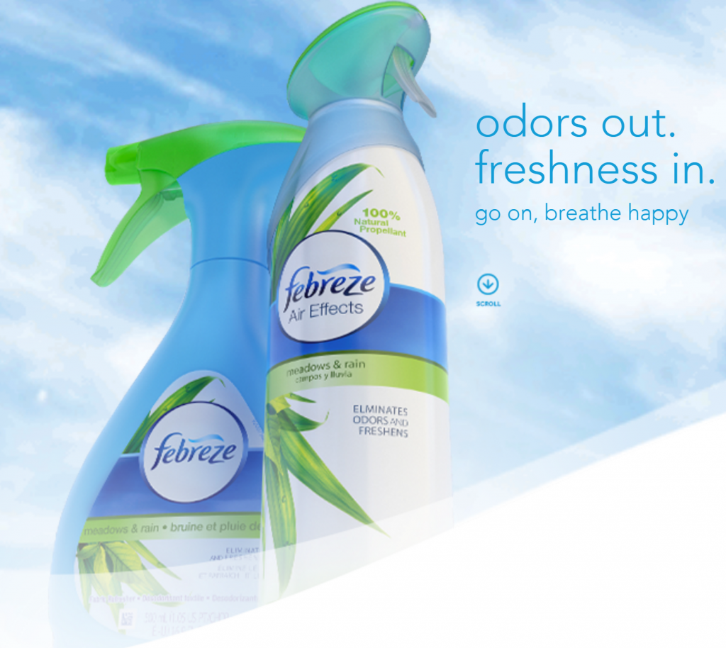 Image of Febreze from P&G
