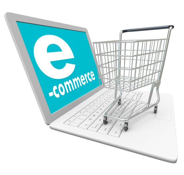 image of laptop and shopping cart