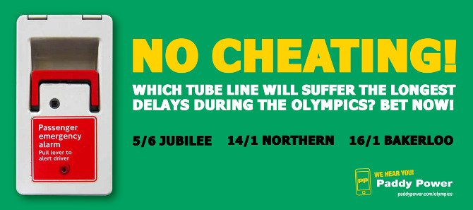 Image of use of humour by Paddypower website