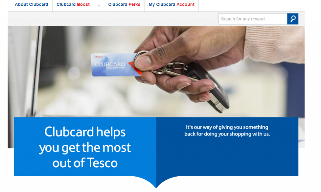 Reward psychology from Tesco.com