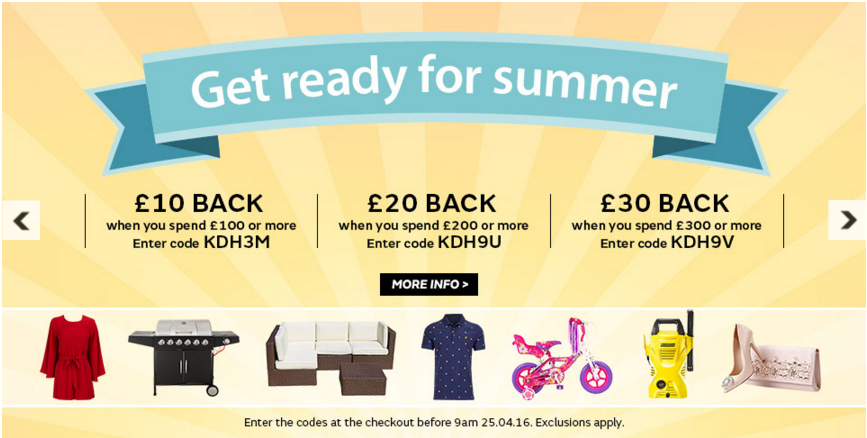 Reward psychology using cash back promotions from Very.co.uk