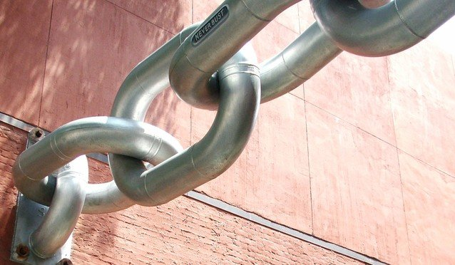 Image of chain links never bust