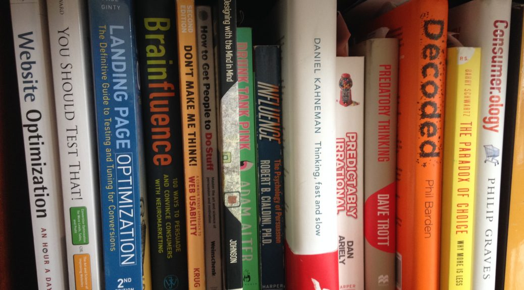 Recommended books for conversion rate optimization