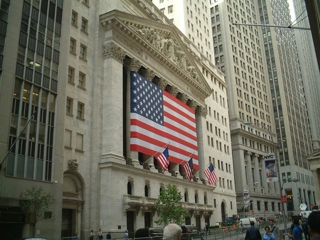 Image of New York stock market