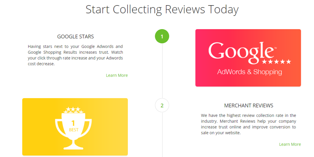 Image of Review.co.uk rating and reviews platform homepage