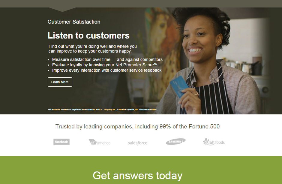 Surveymonkey.com customer satisfaction