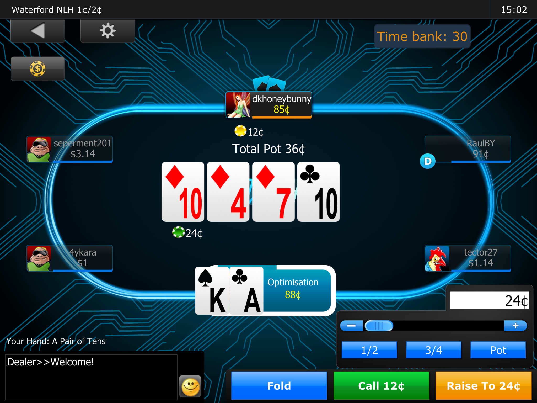 free online video poker game