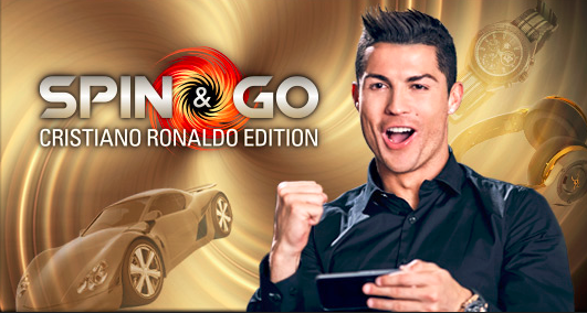 Image of cristiano ronaldo playing poker