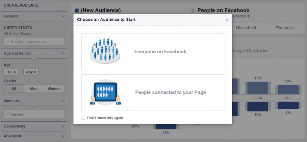 Image of Facebook Insights page