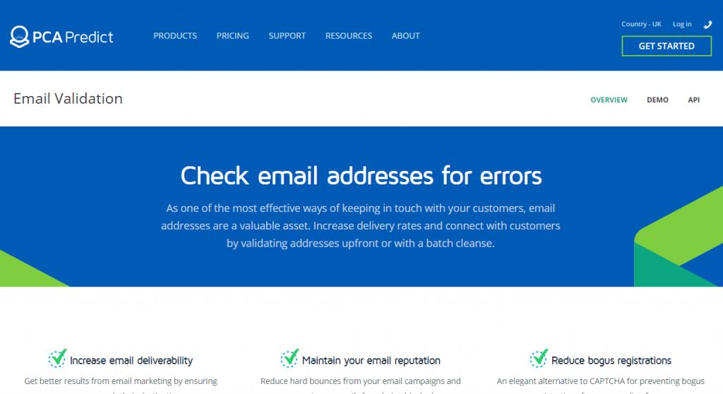 Image of PCAPredict.com email services