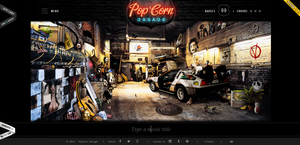 Image of popcorngarage.com