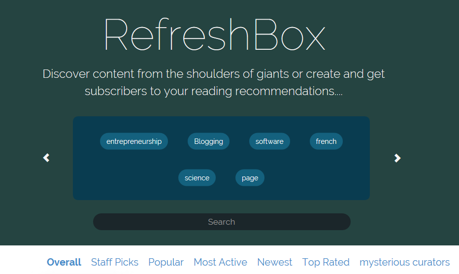 Image of Refreshbox.com