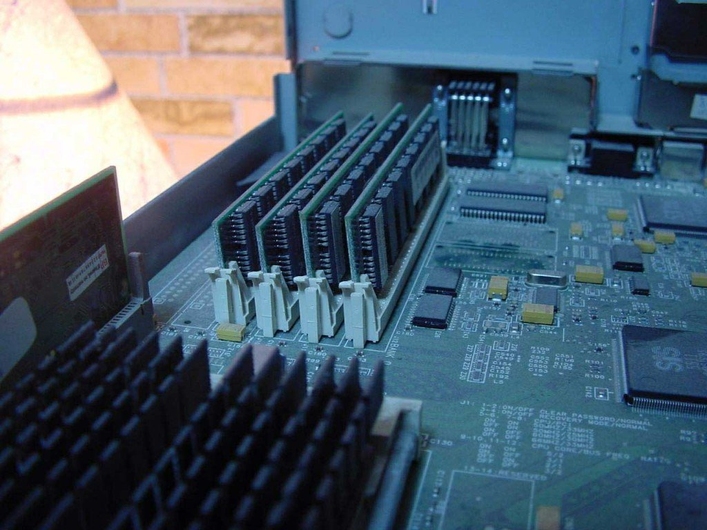 Image of computer memory chips