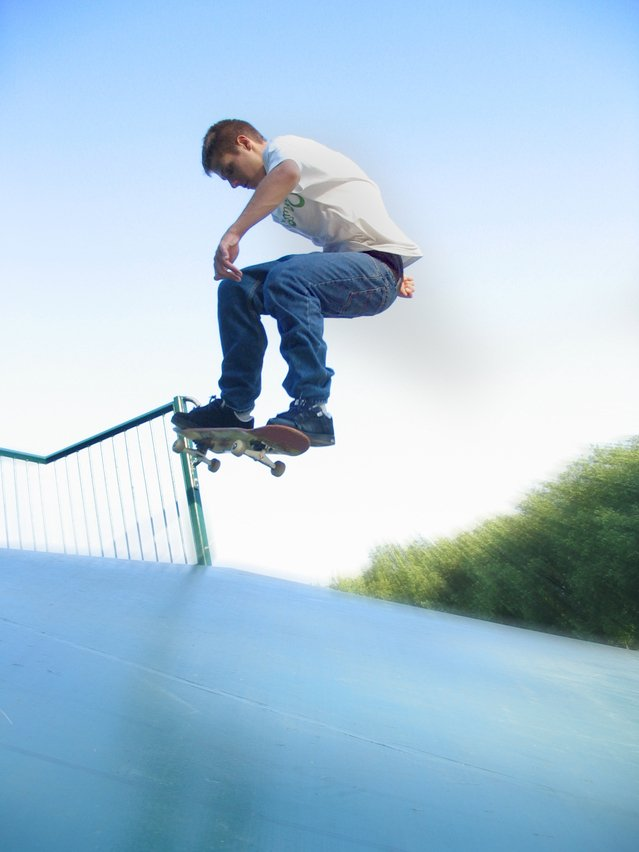 Image of skateboarding