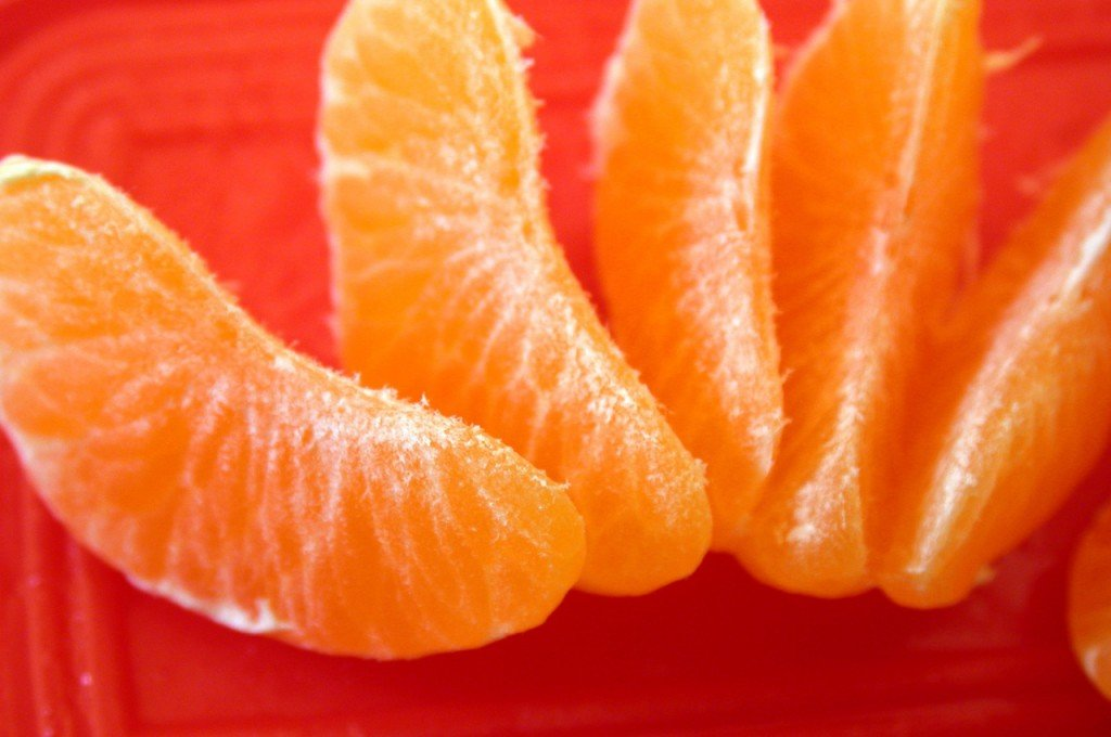 image of tangerine segments