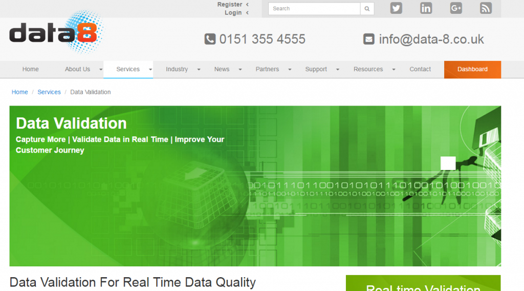 Image of Data-8-co.uk validation page