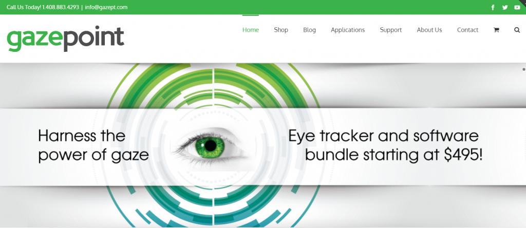 Image of gazept.com homepage