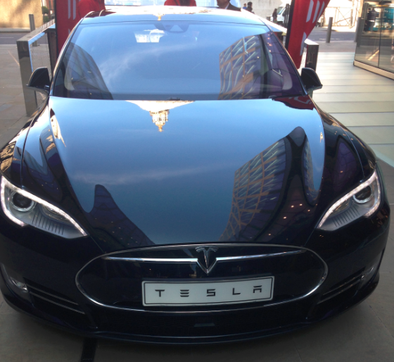 Image of Tesla car