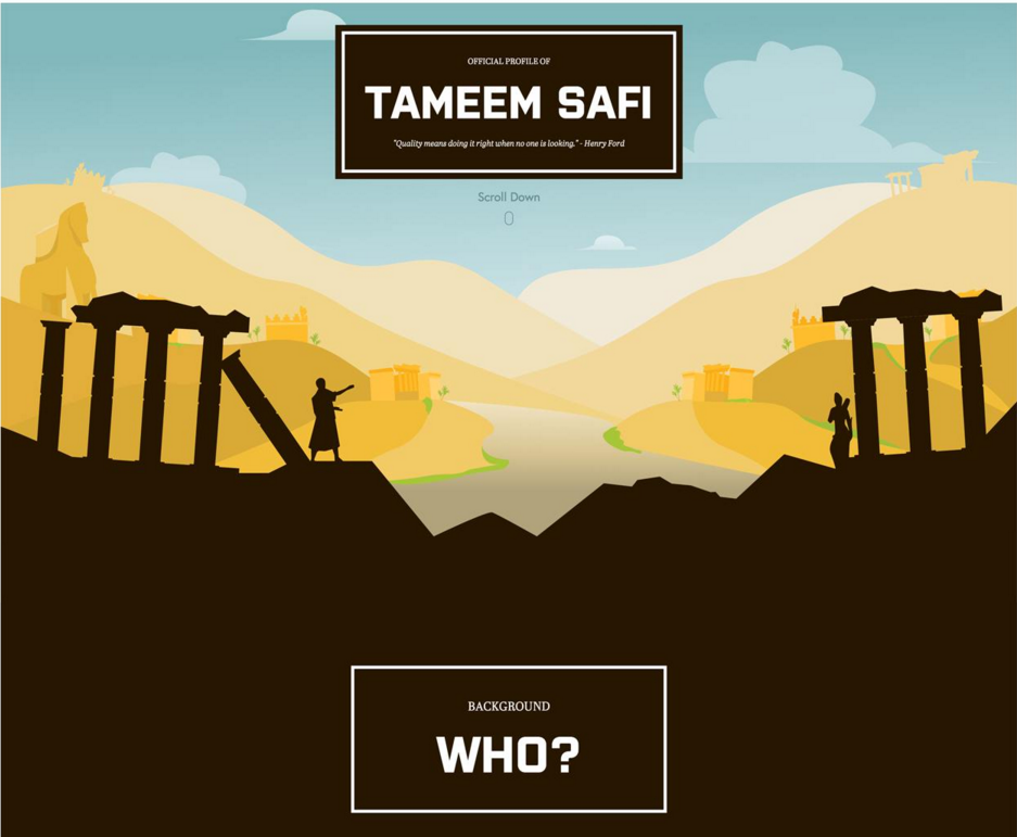 Image of TameemSafri.com
