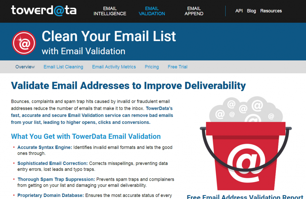Image of towerdata email verification