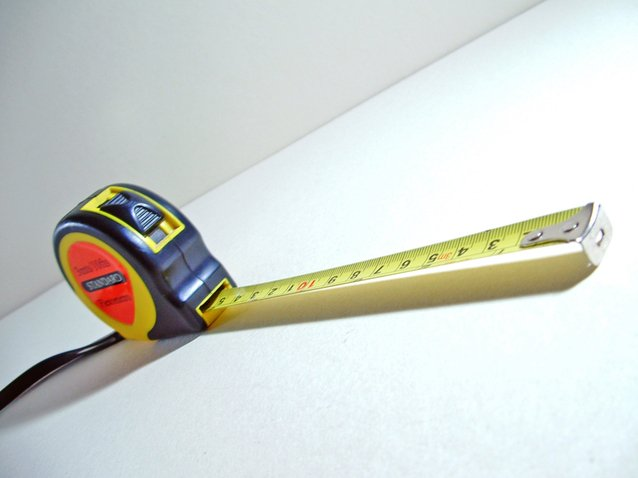 Image of tape measure