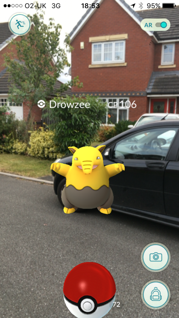 Image of Pokemon Go Drowzee