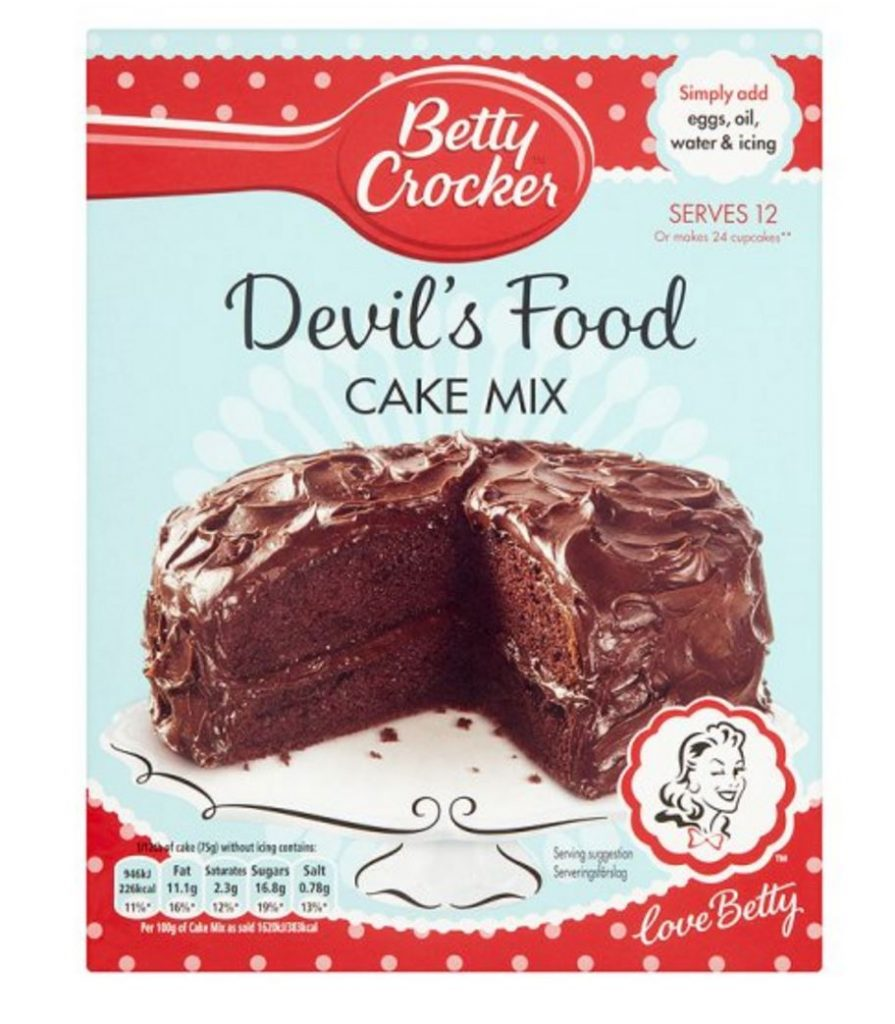 Image of instant cake mix example of IKEA effect