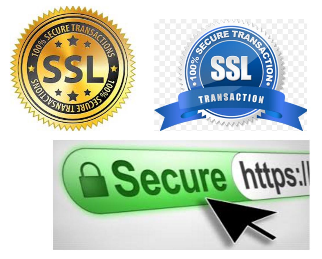 Images of SSL security seals