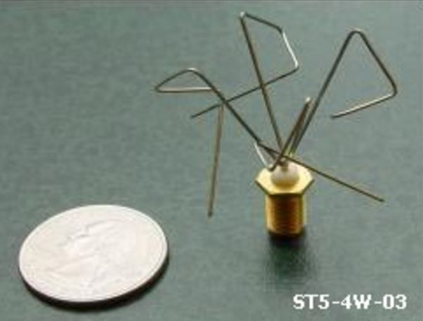 Image of NASA antenna designed by evolutionary algorithms