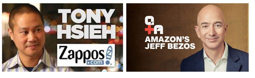 Image of Tony Hsieh and Jeff Bezos