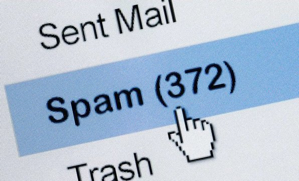 Image of spam folder