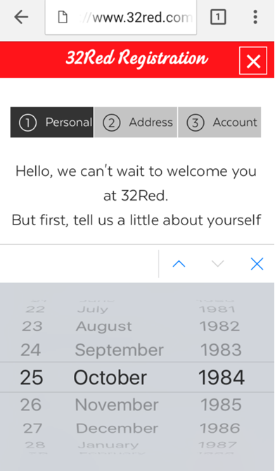 Image of multiple date picker