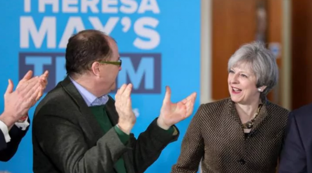Theresa May made the campaign about her leadership and this back-fired