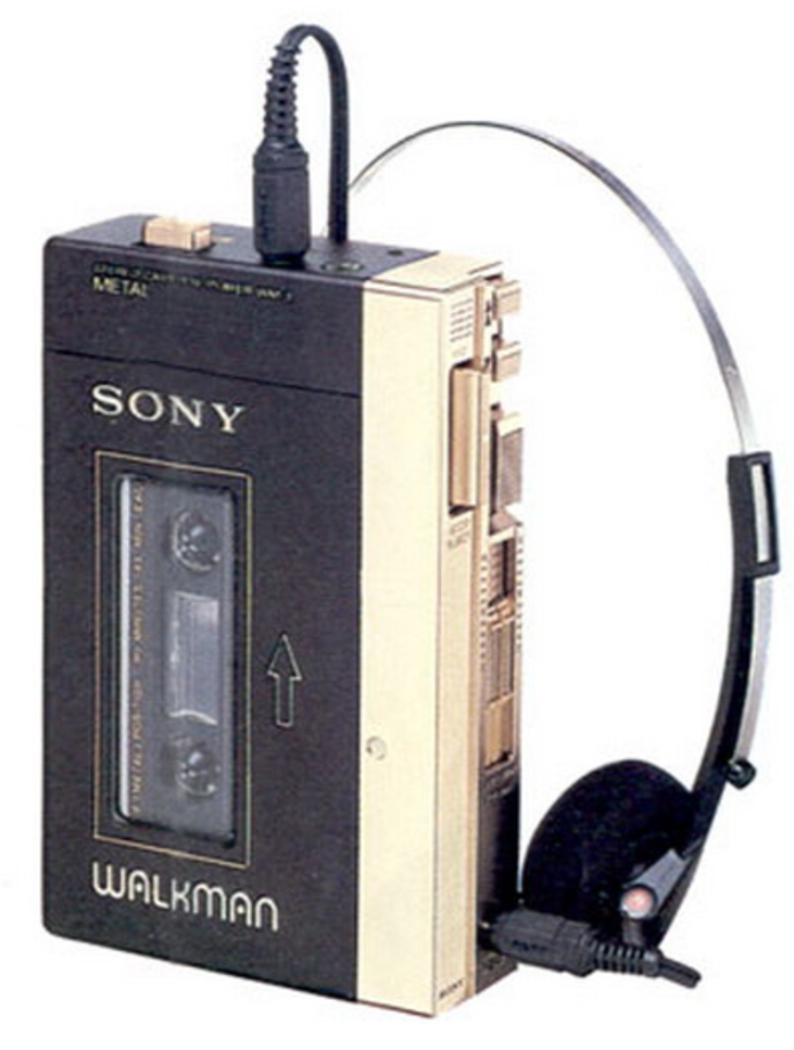 Image of Sony Walkman