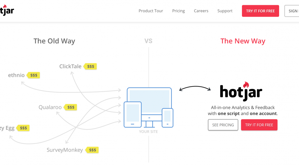 Hotjar Insights offers a new solution for behavioural analytics and customer feedback