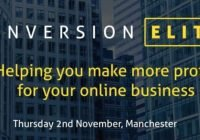 The Conversion Elite conference was held in Manchester on 2nd November 2017 and included some of the best speakers on conversion rate optimisation