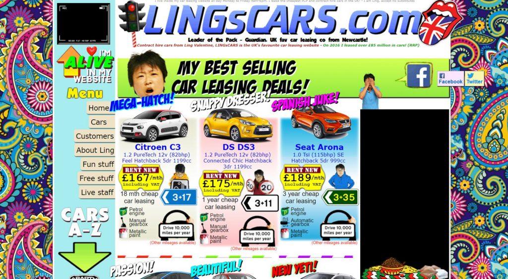 Minimise distractions unlike LingCars.com