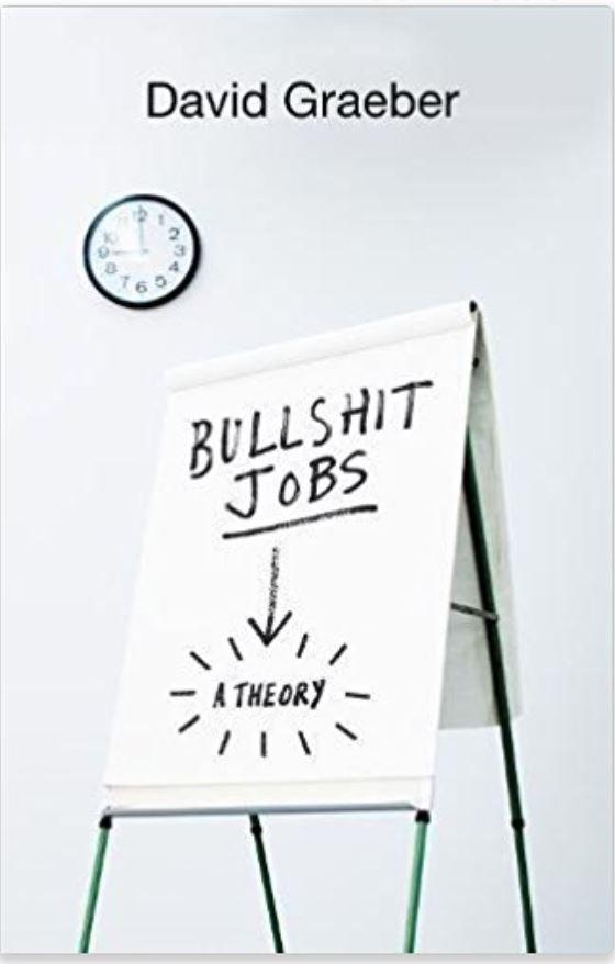 David Graeber, author of Bullshit Jobs