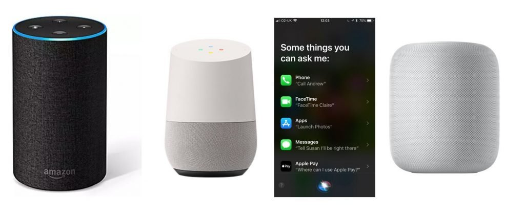 Voice search hardware