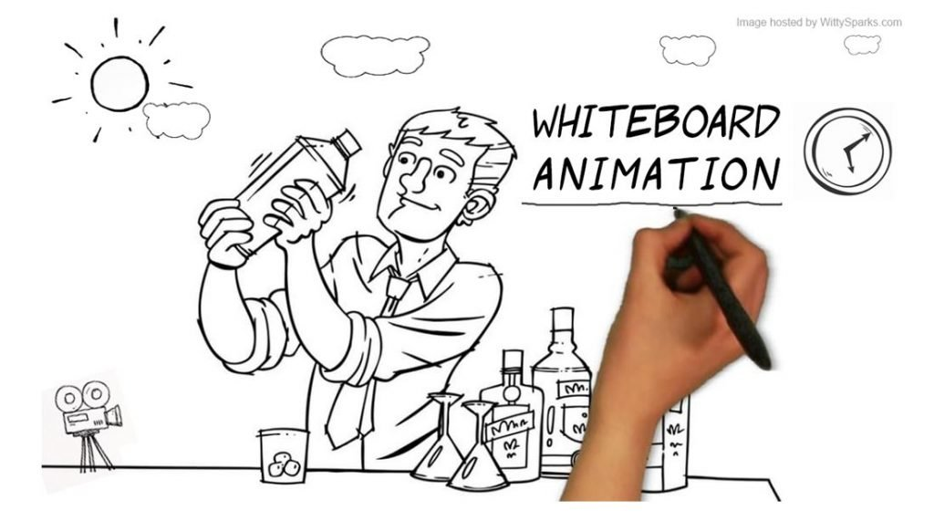Whiteboard animation video image