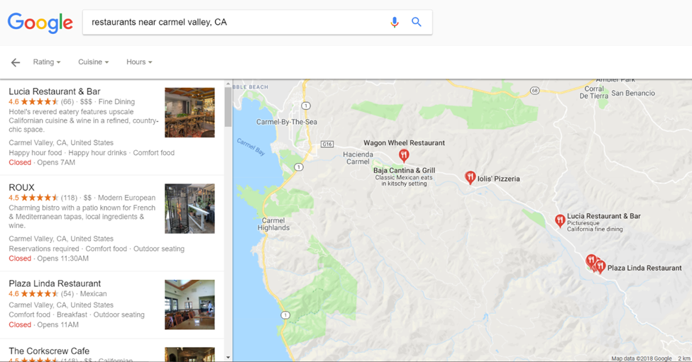 Local SEO marketing Google My Business