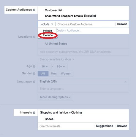 Image Facebook Narrowed Targeting