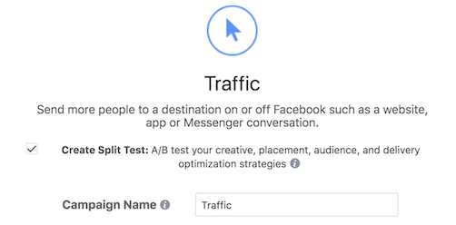 Image of Facebook Split Test Ads