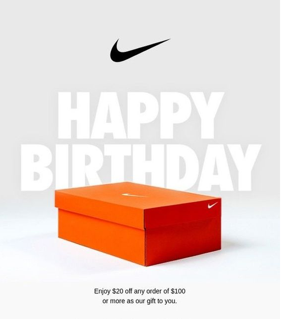 Nike.com marketing automation