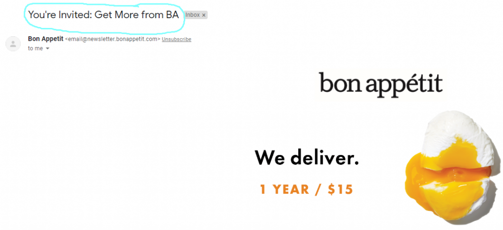 Bon Appetit.com marketing automation