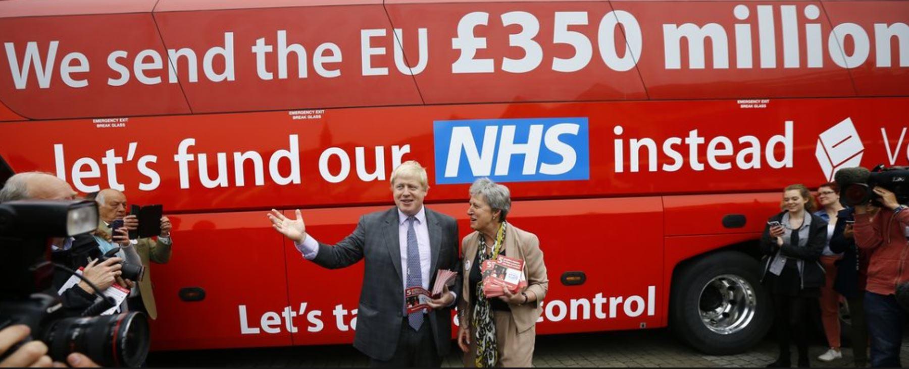 The Boris Johnson Brexit Bus Lie of £350m - Conversion Uplift