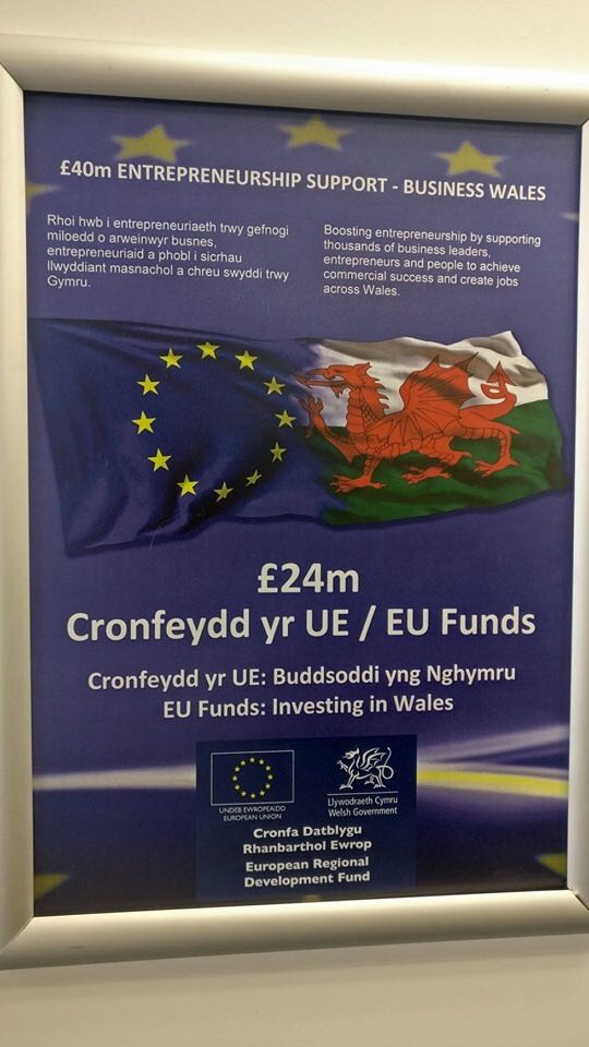 £24m EU funds for Wrexham