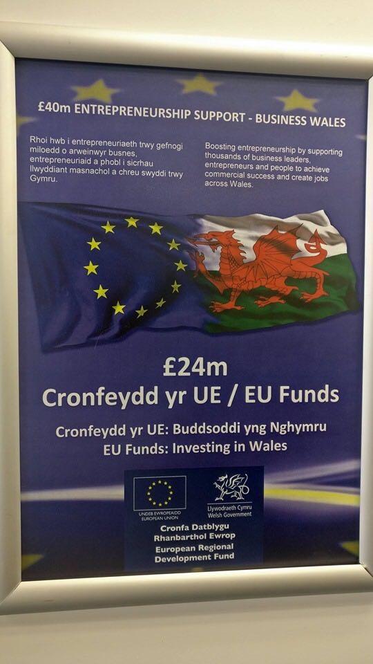 £24m EU funds for Wrexham