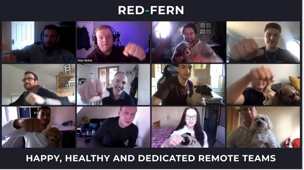 Remote working as a team