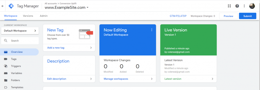 Adding element IDs helps get your website Google Tag Manager ready